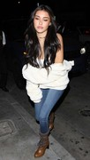 Madison Beer - Cleavage Candids out in West Hollywood 6