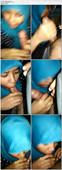 Awek Tudung Biru