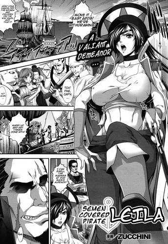 [Zucchini] Semen-Covered Pirate Leila Hakudaku Kaizoku Leila (English Manga Doujinshi)