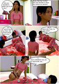 3d incest comic by Wolfyperv - Adopted childs love for his sister part 2