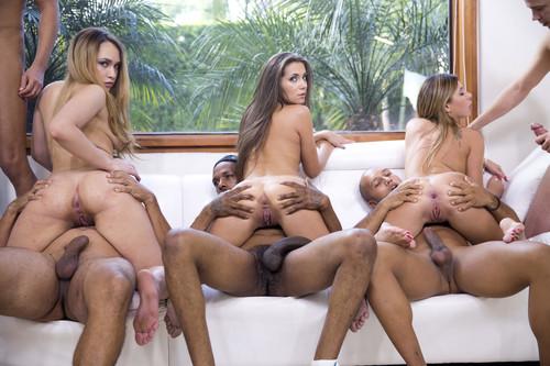 Nurse garter belt orgy