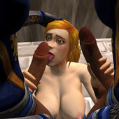World of warcraft porn parody by Shikron - The Plundering of Sarayla + panels
